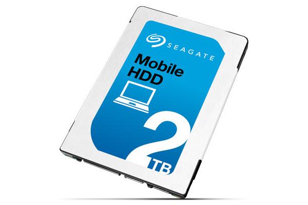 Seagate 開始出貨 2.5 吋 Mobile HDD,7mm 機身高度容量達 2TB