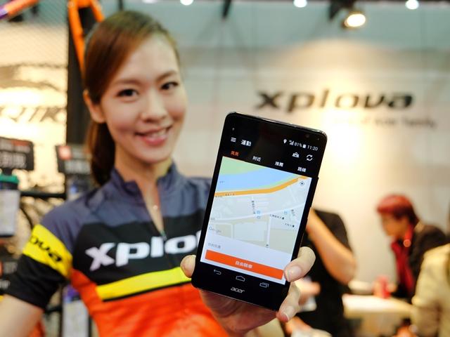 Xplova 發表單車社交 app,可定位、直播、揪團一起騎