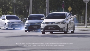 Toyota VIOS放膽「甩尾」,耍帥成功的秘密究竟是?