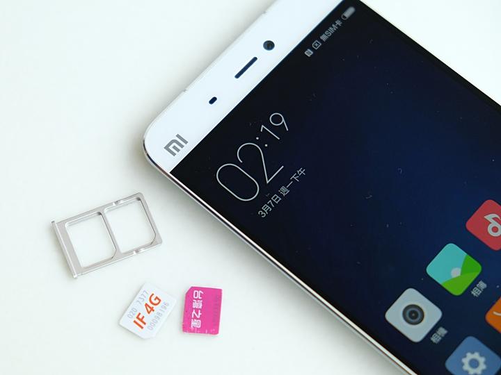 小米 5 雙卡雙待實測,真的能使用 4G + 3G