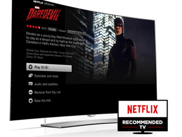 不要煩惱用哪款機上盒,Netflix宣佈2016年度Netflix推薦電視機計畫