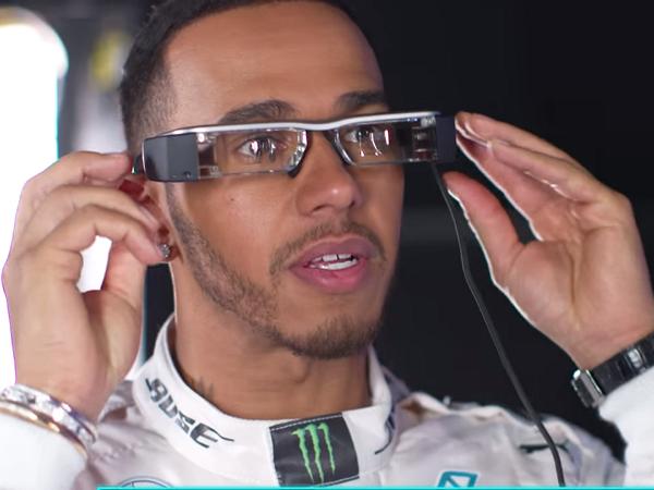 Epson智慧眼鏡Moverio引進F1車隊,利用擴增實境掌握賽事資訊