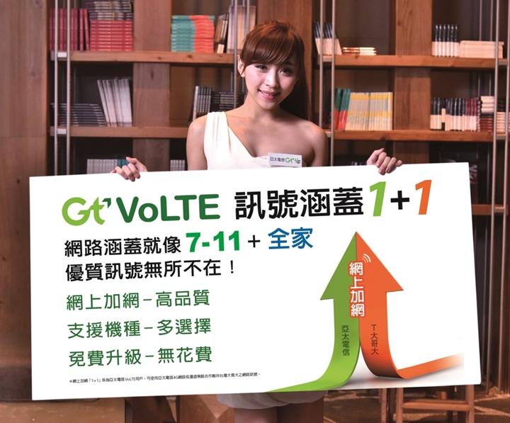 亞太電信 Gt VoLTE 即日起開放門市體驗,用戶可免費更換 SIM 卡
