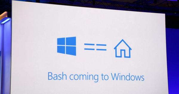 微軟宣布夏季版的Windows 10更新將擁抱Linux子系統,可使用Bash Shell