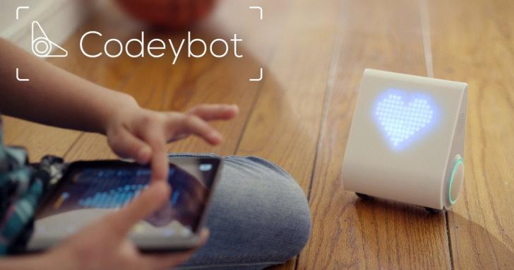 不需組裝,專注於程式教學的Codeybot教育機器人