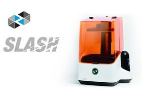 Slash 3D印表機,採用LCD-SLA技術讓列印速度更快