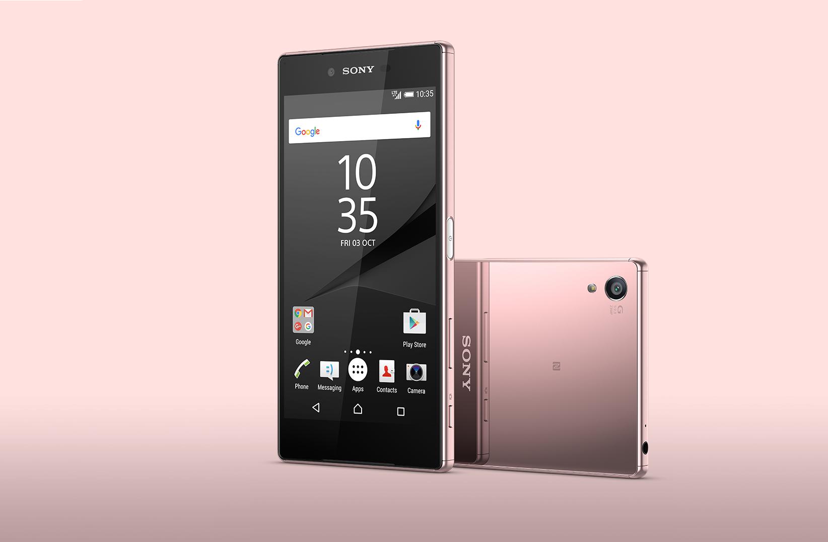 Sony Z5 Premium 粉色鏡面款登場,SmartWatch 3 中文版上線
