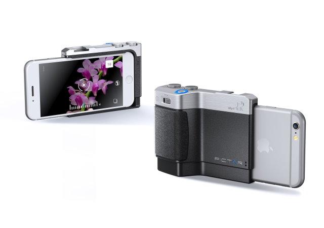 裝上PICTAR外殼,讓iPhone也有專業相機的操作手感