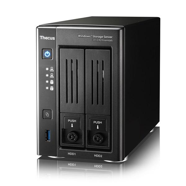 Thecus 發表新一代 Windows 網路儲存系統 W2810PRO,輕量級 NAS 新選擇