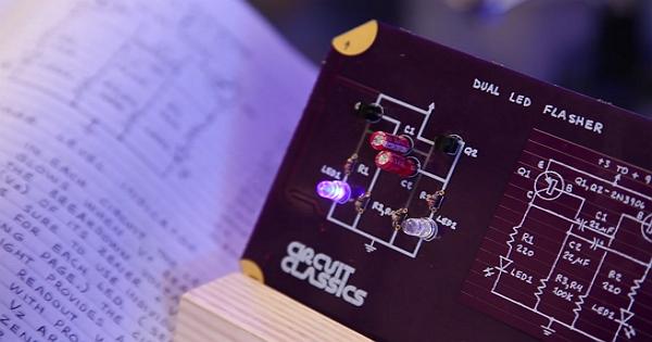 向史上最棒的電子電路學課本致敬,自己親手打造出「經典電路」