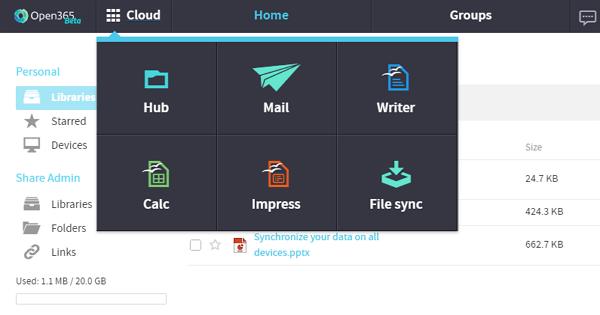 對抗Office365,Open365也將LibreOffice搬上雲端