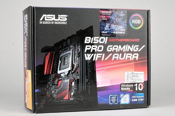 炫目燈光 Mini-ITX 主機板,Asus B150I Pro Gaming/WiFi/Aura 實測