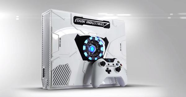 微軟推出有方舟反應爐版本的Xbox One,史塔克工業冠名設計
