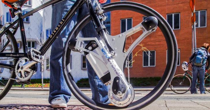 換個前輪,GeoOrbital讓你的腳踏車變身時速30公里的超酷電動車 | T客邦