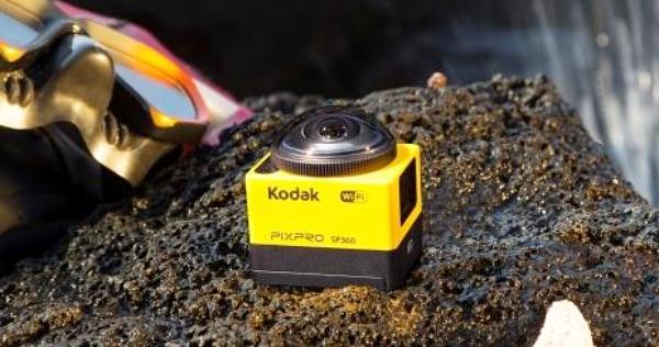 可錄 4K 半球體影片!Kodak PIXPRO SP360 環景運動攝影機上市,售價 15,990 元