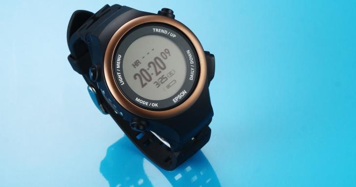 Epson Pulsense PS-600-全時偵測的心率腕錶
