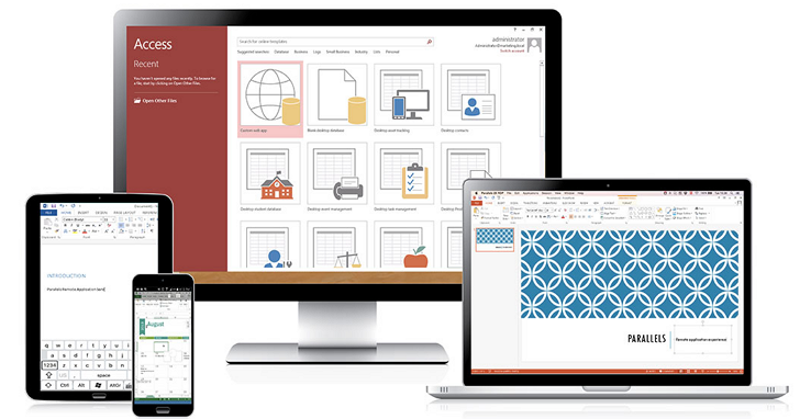 Parallels Remote Application Server V15上市,在任何裝置上遠端使用各種Windows 應用程式