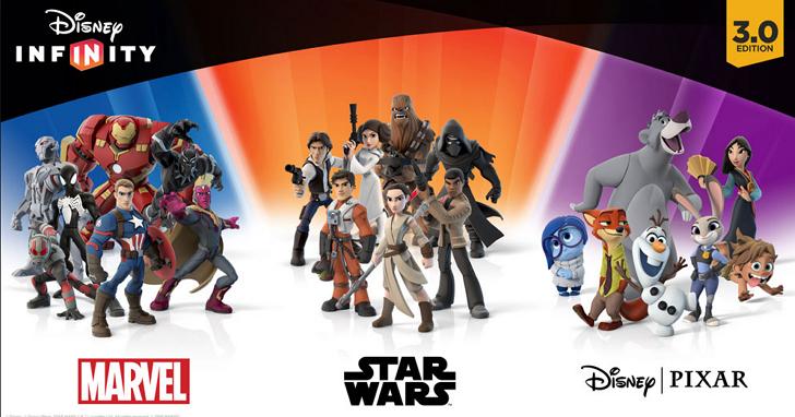 迪士尼財報低於預期,砍掉了他們的 Disney Infinity 電玩產品線