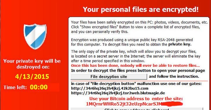 良心發現?勒索軟體TeslaCrypt作者主動道歉,並釋出解密金鑰
