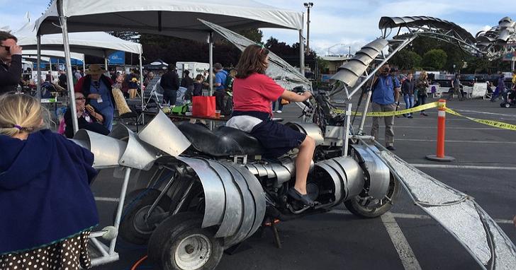 要玩就玩大的!這些是美國加州Maker Faire 2016現場的奇想創作