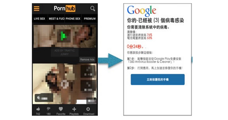 「你的手機需要更新」誘騙下載,台灣手機詐欺廣告量全球第六