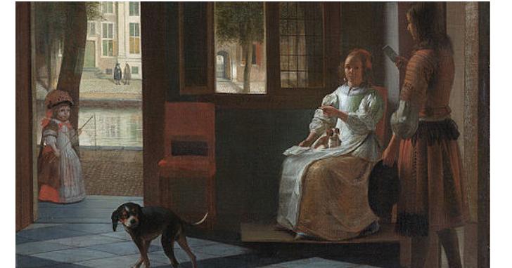 庫克看到這幅百年前的油畫後說:我以為我知道iPhone的發明時間,但現在不確定了