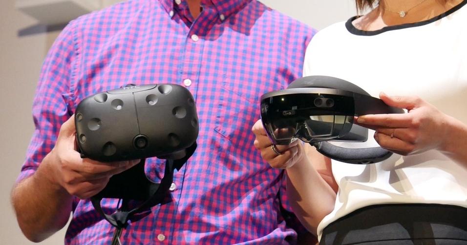 微軟宣佈開放 Holographic 平台:混合實境(MR)串連VR及AR裝置,HTC Vive也能玩!