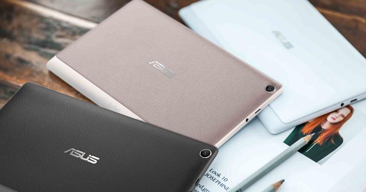 華碩New ASUS ZenPad三款新平板上市!支援7.1聲道環繞DTS音訊技術
