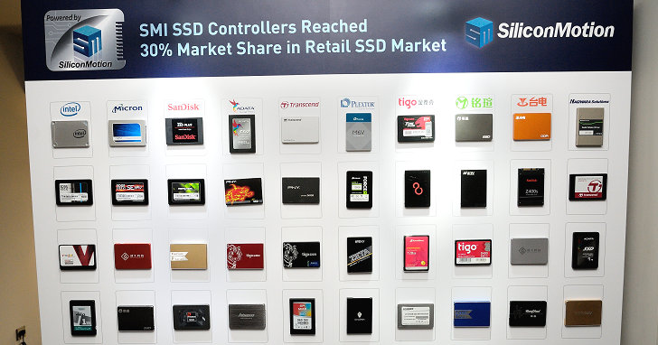 強化 3D TLC 快閃記憶體支援,SMI 新推出 SM2258 固態硬碟控制器