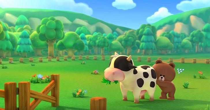 LINE GAME將推首款農場遊戲《LINE 熊大農場》,事前登錄搶先跟熊大一起種田