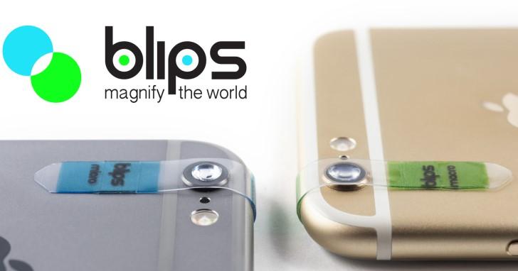 將手機相機瞬間升級為顯微鏡,超輕薄顯微透鏡BLIPS小到可以放入皮夾隨身帶