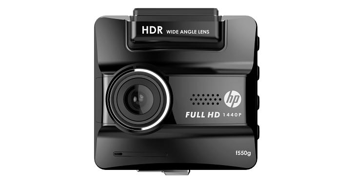 HP 推出可錄製 1440P 畫質的行車記錄器 F550G,售價 4,990 元