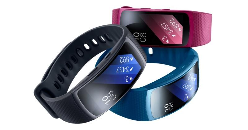 三星推智慧手環 Gear Fit 2、藍牙耳機 Gear Icon X,七月初上市