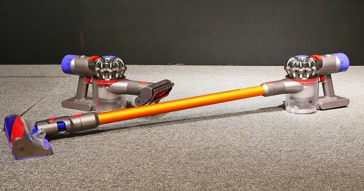 Dyson 發表新一代 V8 Fluffy 無線吸塵器,吸力更強續航力達 40 分鐘