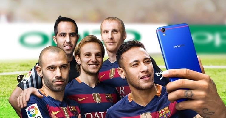 限量 50 台!OPPO R9 推紅藍配色巴薩全球限量版手機
