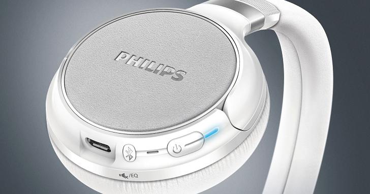 飛利浦推出新款無線藍牙耳機 SHB9250,具備觸控式介面並支援 Siri/Google Now