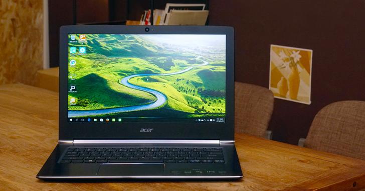 Acer Aspire S 13 輕薄筆電實測:集輕巧、美型、高效能於一身
