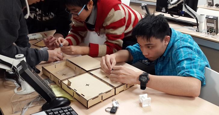 台灣玩家設計:結合Maker、桌遊、APP和密室逃脫的新一代動腦遊戲「UndoBox」