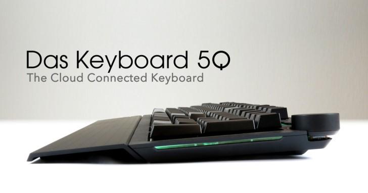 炫光鍵盤不只好看,Das Keyboard 5Q還能通知重要事項