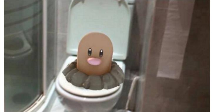 Pokémon Go的第101種玩法:咦...這些小傢伙怎麼盡出現在這些怪怪的地方呀?