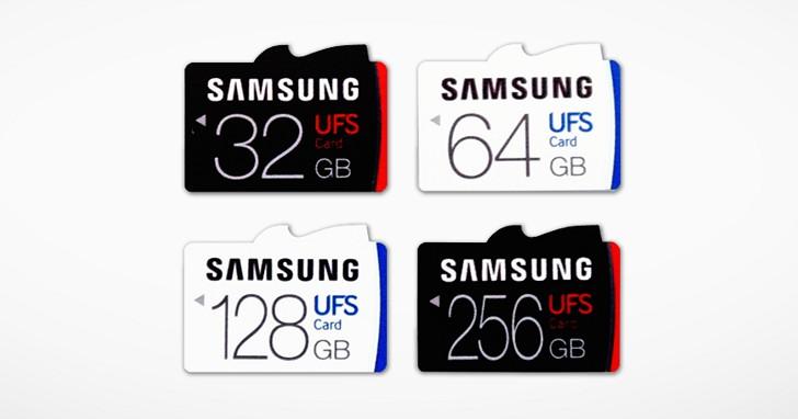 速度堪比 SATA 6Gb/s 挑戰 SD 地位,Samsung 發表全球首款 UFS 記憶卡