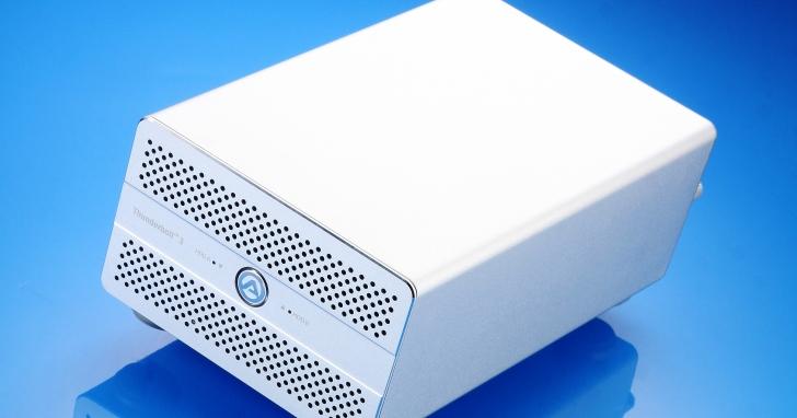 AKiTiO Thunder3 Duo Pro- 40Gbps 超高速硬碟外接盒