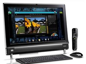 影音強悍,HP TouchSmart 600 旗艦機登場