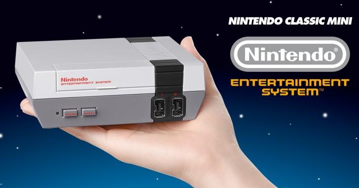 搞什麼灰機?任天堂官方推出經典NES主機迷你版,內建30款遊戲接上電視就可玩