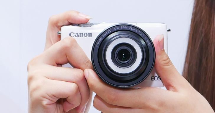 顛覆微距視野之作:Canon EF-M 28mm f/3.5 Macro IS STM 微距鏡評測