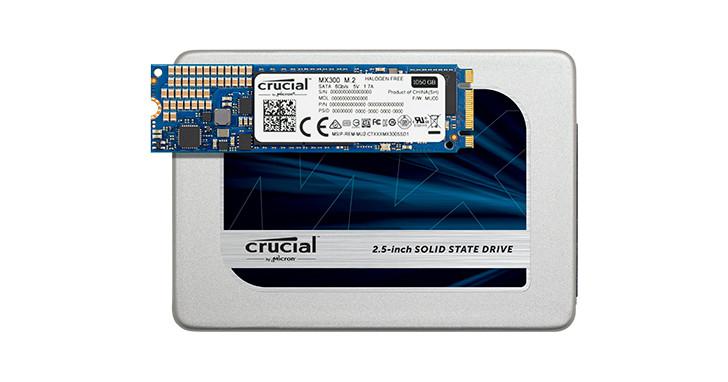 Crucial MX300 固態硬碟全員到齊,新增更多容量選擇與 M.2 版本