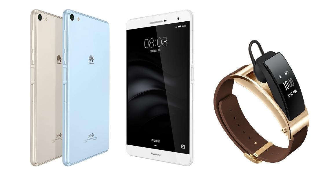 華為推 7 吋通話平板 MediaPad T2 Pro、藍牙耳機手環 TalkBand B3