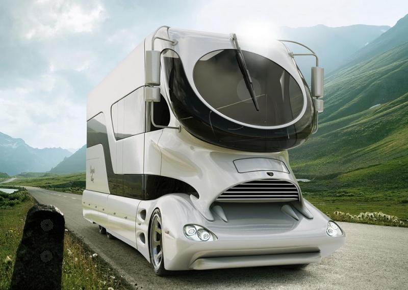 露營界的行動「帝寶」!Marchi mobile露營車