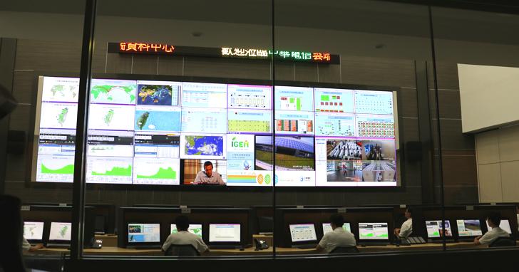 首度公開!帶你看中華電信雲端資料中心的網路監控中心