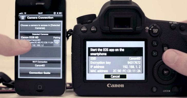 Canon 正在開發「W-E1」SD 記憶卡,打算讓無法上網的相機也能發臉書、用手機控制拍照